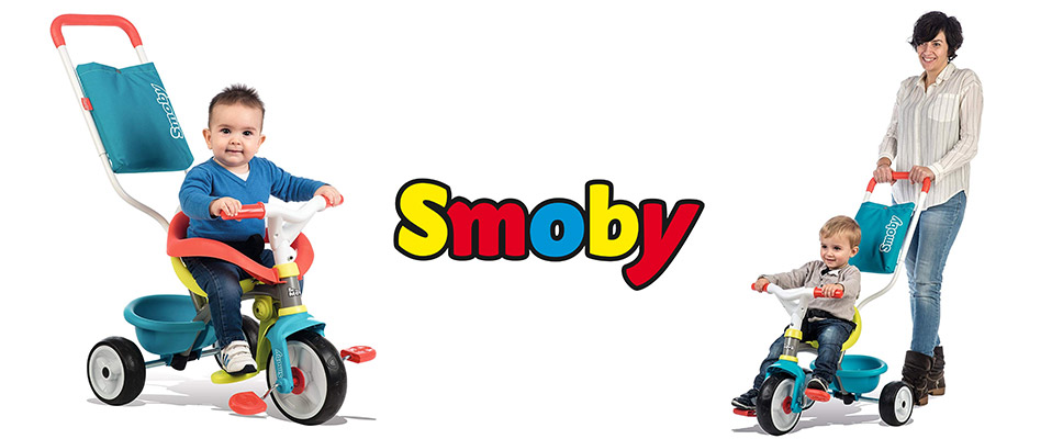triciclo bebe smoby